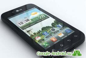 Смартфон LG Optimus Black
