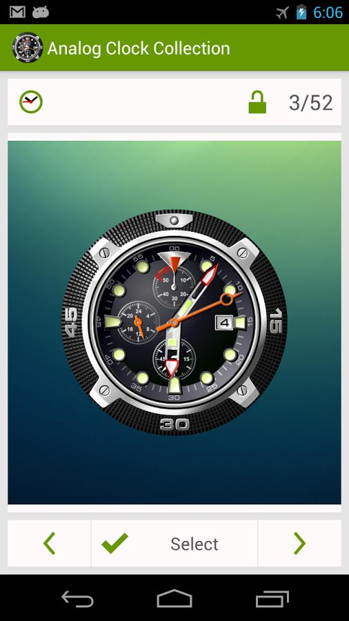 Авиджет авиационные часы для андроид