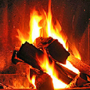 Warm Fireplace HD